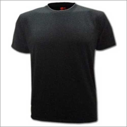 Round Neck Black T - Shirt