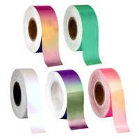 Fluorescent Iridescent Tapes
