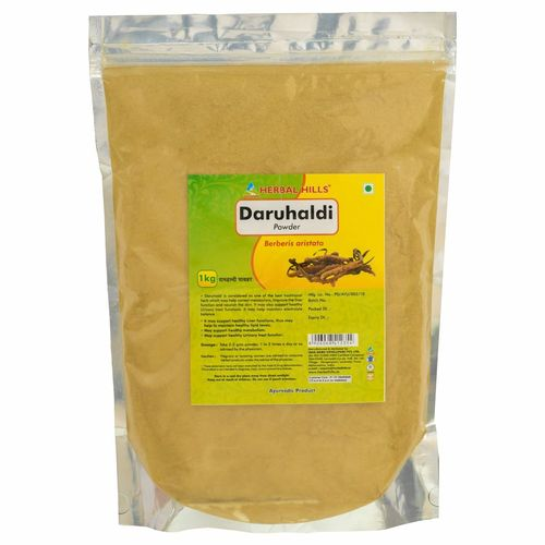 Ayurvedic Daru Haldi Powder 1kg for Healthy Skin & Liver