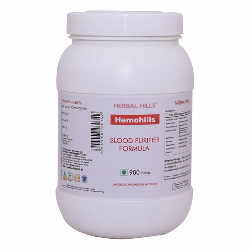 Blood Purifier Tablets - Blood Cleanser - Hemohills 900 Tablets