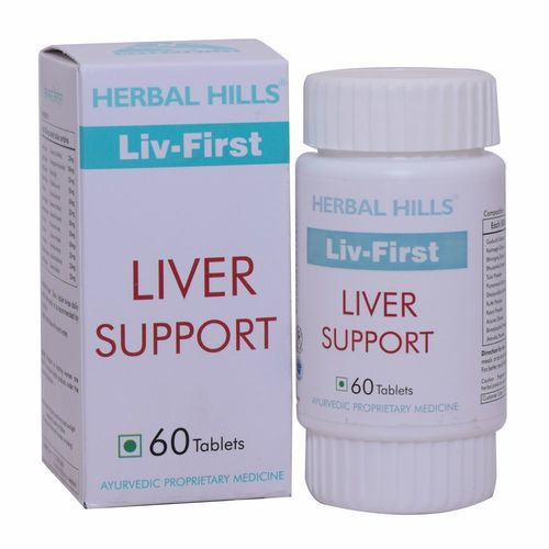 Liver Support - Liv First 60 Tablets
