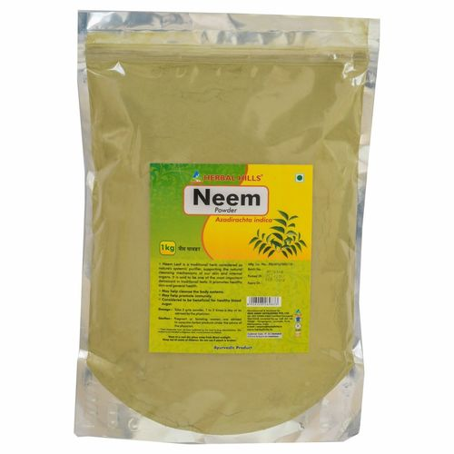 Ayurvedic Neem Patra Powder 1kg for Blood Purification