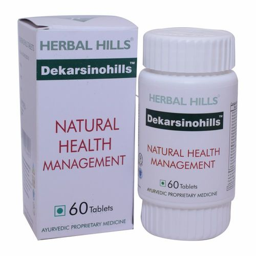 Ayurvedic Medicine for Healthy Cell Care - Dekarsenohills 60 Tablets