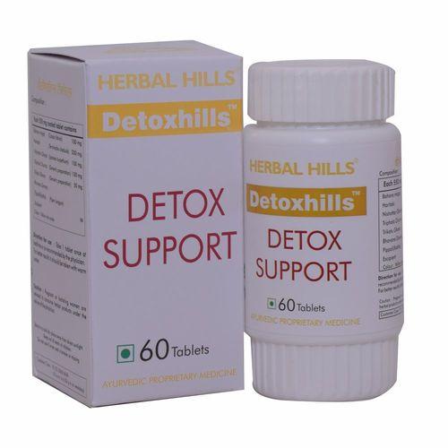Ayurvedic Medicine For  Detoxification Of Body - Detoxhills 60 Tablets Certifications: Iso 22000-2005 Gmp Usda Voca Halal
