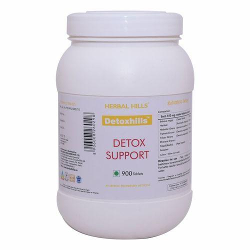 Ayurvedic Medicine For  Detoxification Of Body - Detoxhills 900 Tablet Certifications: Iso 22000-2005 Gmp Usda Voca Halal