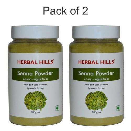 Ayurvedic Senna Powder 100gm for Detoxification (Pack of 2)