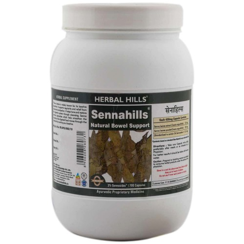 Ayurvedic Medicine for Detoxification of Body - Senna 700 Capsule
