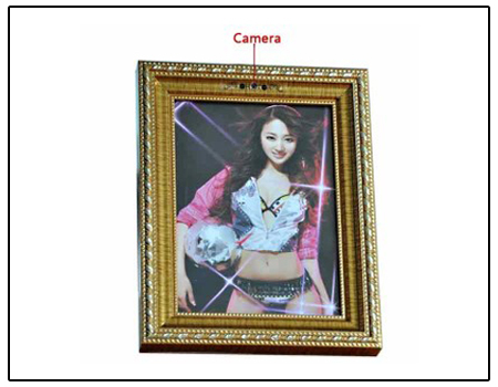 Spy Night Vision Photo Frame Camera