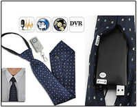 Spy Hidden Neck Tie Camera