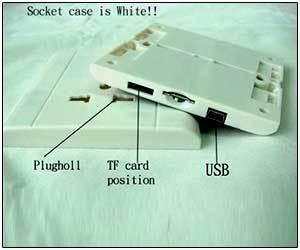 Spy Mini DVR Socket Camera