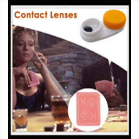 Poker Cheat Contact Lens