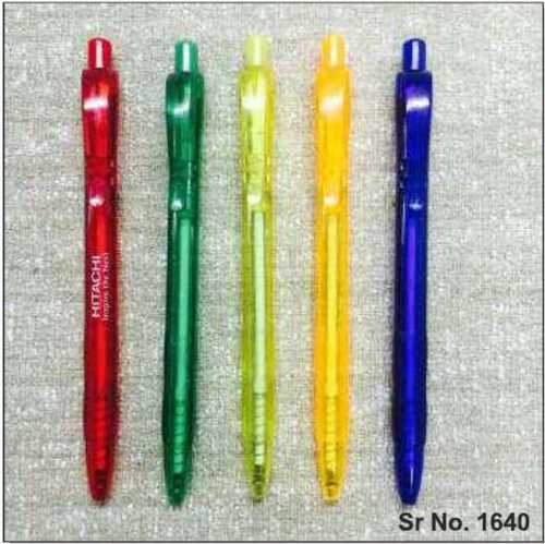 Easy Knock Transparent Ballpen