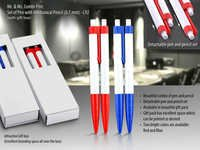 Mr&Ms.Combi-pen:Set of Pen with mechanical pencil
