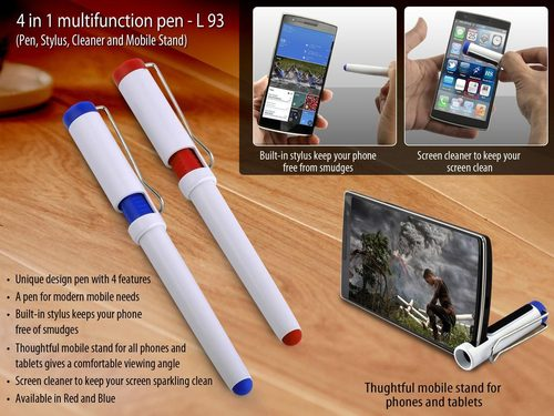 4 in 1 multifunction pen