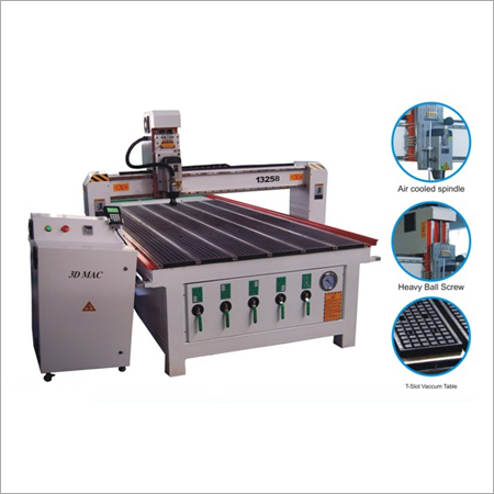 CNC Router with Vacuum Bed