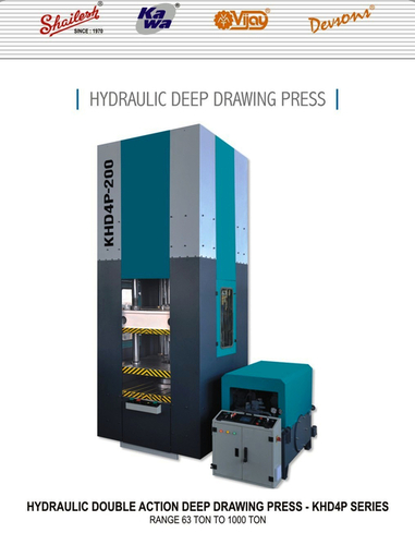 Hydraulic Double Action Deep Drawing Press