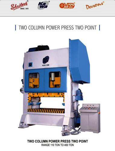 Two Column Power Press Two Point