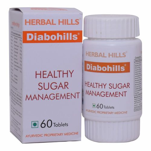 Diabohills 60 Tablets - Healthy Blood Sugar