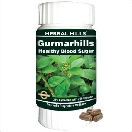 Gurmarhills 60 Capsules - Healthy Blood Sugar