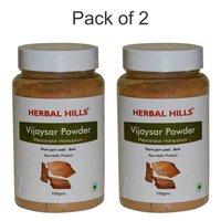 Ayurvedic Vijaysar Powder for Blood sugar level Management (Pack of 2)