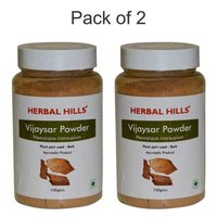 Ayurvedic Vijaysar Powder for Blood sugar level Management (Pack of 2)