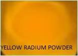 Yellow Radium Powder