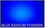 Blue Radium Powder