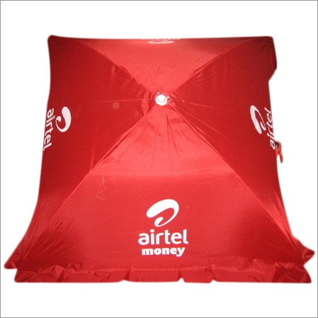 Corporate advertisement   umbrella of  SQUARE 3