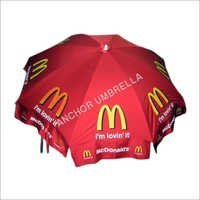 Corporate advertisement   umbrella of Macdonald