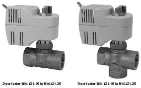 Siemens Control Valves