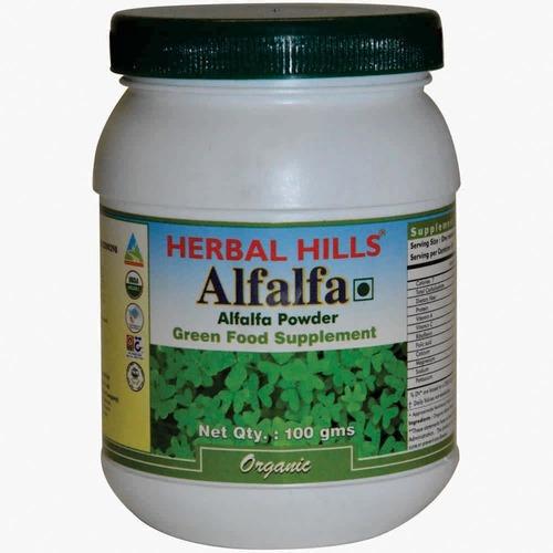 Organic Alfalfa 100gm Powder - Weight loss & Blood Circulation