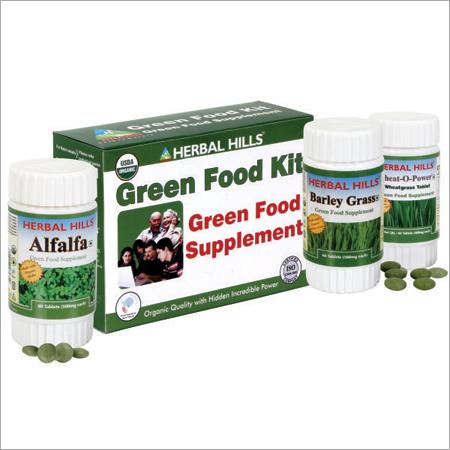 Green Food Supplement Kit - Herbal Food Supplement