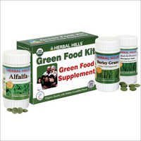 Green Food Supplement Kit - Herbal Food Supplement