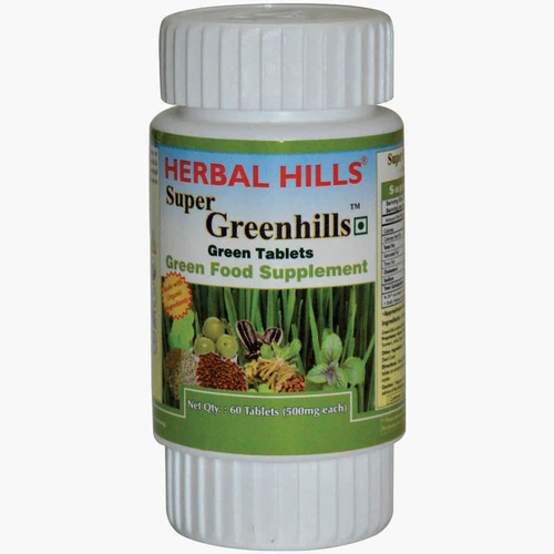Nutritional tablets - Super Greenhills 60 tablets