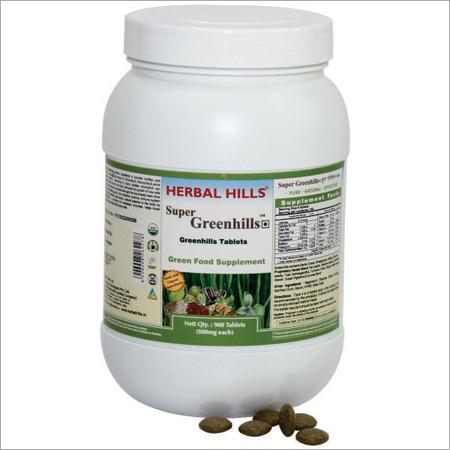 Nutritional tablets - Super Greenhills 900 tablets