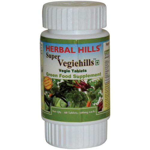 Super Vegetable Tablet - Super Vegiehills 60 Tablets
