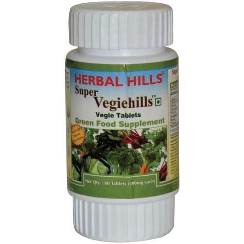 Super Vegetable Tablet - Super Vegiehills 60 Tablets
