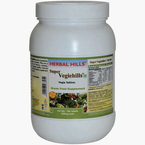 Super Vegetable Tablet - Super Vegiehills 900 Tablets Value pack