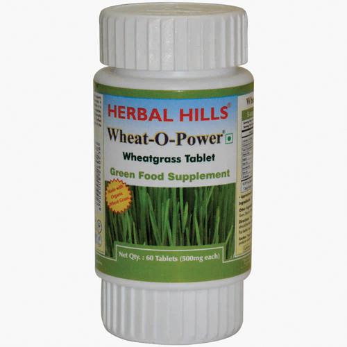 Wheatgrass 60 Tablet Wheat-o-power - Immunity & Blood Purification