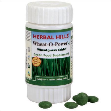 Wheatgrass 120 Tablets - Green Food Supplement