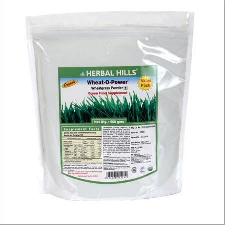 Organic Wheatgrass Powder 500G Pouch
