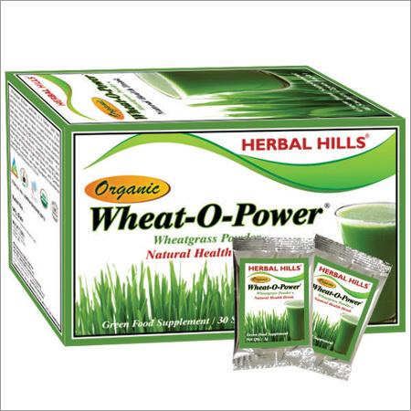 Wheatgrass Natural Sachet - Green Food Supplement