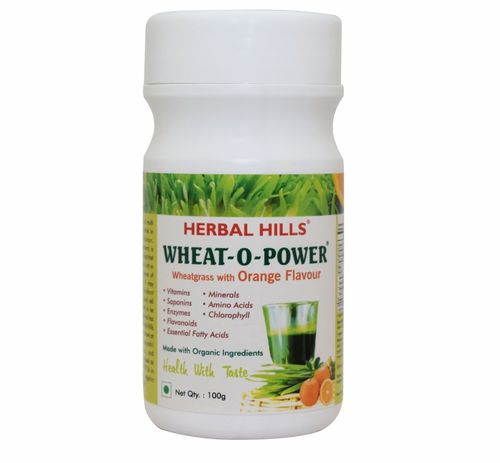 Wheatgrass Orange Sachet