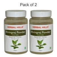 Ayurvedic Bhringraj Powder 100gm for Healthy Hair (Pack of 2)