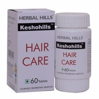 ayurvedic Hair care products for healthy hair growth - Keshohills 60 Tablets