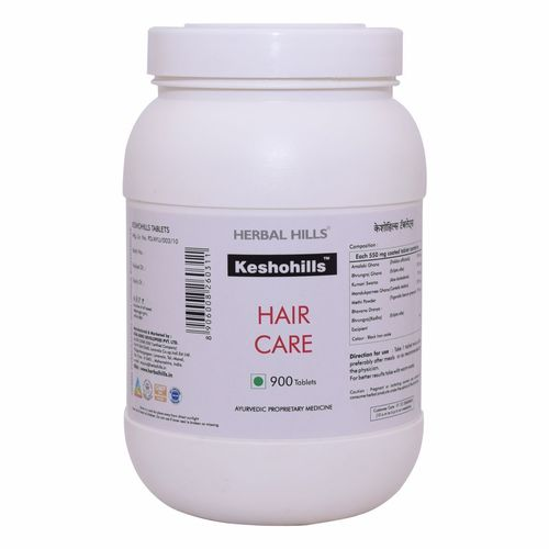 ayurvedic Hair care products for healthy hair growth - Keshohills 900 Tablets