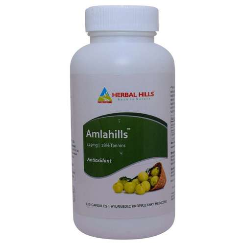Healthy Hair & Digestion Amla Capsule - Amlahills