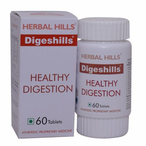 ayurvedic medicine for digestion problem - Digeshills 60 Tablets