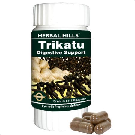 Trikatu 60 Capsule : Digestive Support