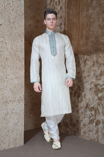 Mens Pintuck Kurta